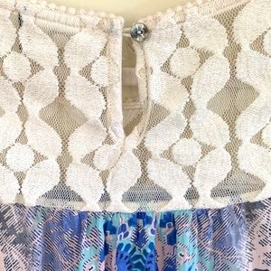Anthropologie Tops - Anthropologie Akemi + Kin Maite Lace Tunic Top - S
